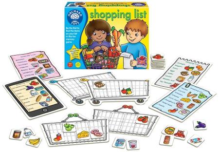 Joc educativ in limba engleza Lista de cumparaturi SHOPPING LIST [1]