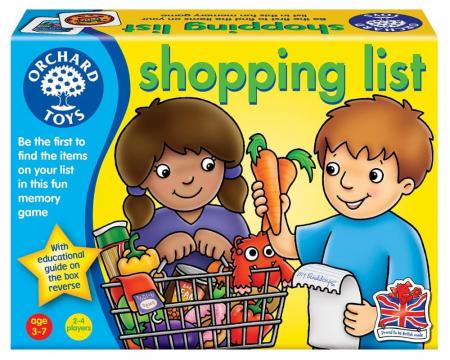 Joc educativ in limba engleza Lista de cumparaturi SHOPPING LIST [0]