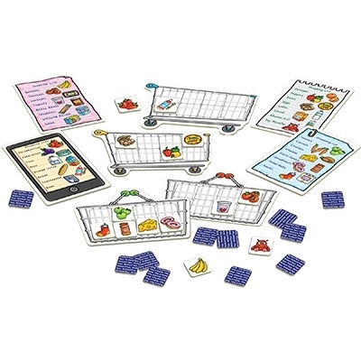 Joc educativ in limba engleza Lista de cumparaturi SHOPPING LIST [4]