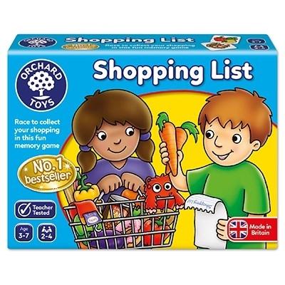 Joc educativ in limba engleza Lista de cumparaturi SHOPPING LIST [3]