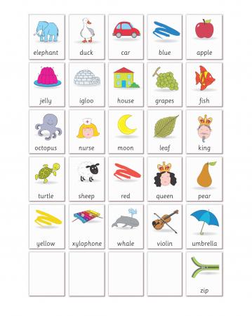 Joc educativ Primele notiuni de scris - Litere / First Writing - Fiesta Crafts [3]