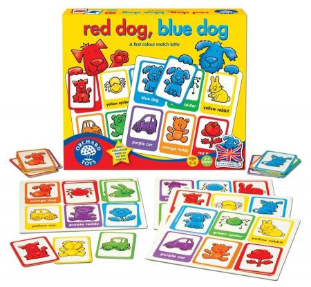 Joc loto Catelusii / RED DOG BLUE DOG [1]