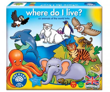 Joc loto Habitate / WHERE DO I LIVE [0]