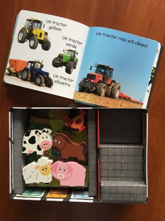 LA FERMA - SET CU PUZZLE,CARTE, FIGURINE - joc educativ Didactica Publishing House [5]
