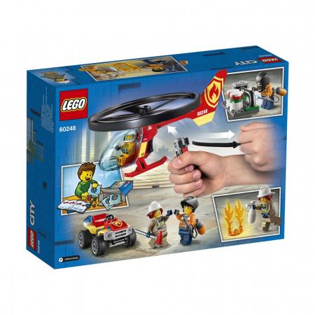 LEGO CITY INTERVENTIE CU ELICOPTERUL DE POMPIERI 60248 [8]