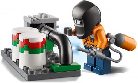 LEGO CITY INTERVENTIE CU ELICOPTERUL DE POMPIERI 60248 [5]