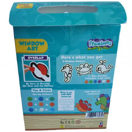 Set creativ stickere pentru fereastra – Aqua World [3]