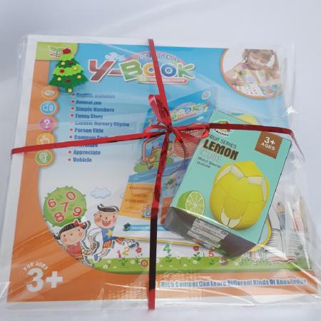 Cadou 5-7 ANI - Invatare Limba Engleza + Cub Rubik Lamaie [1]