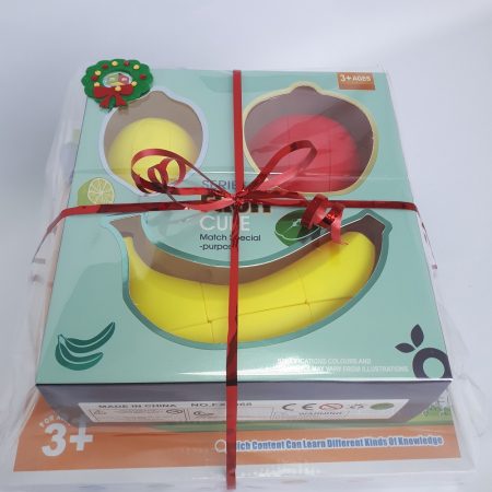 Cadou 5-7 ANI - Invatare Limba Engleza + Set Cuburi Rubik Fructe [1]