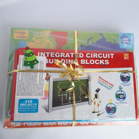 Cadou 8-14 ANI - Puzzle Harta lumii + Constructie Circuite Integrate [1]