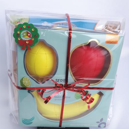 Cadou 5-7 ANI - Invatare Limba Engleza + Set Cuburi Rubik Fructe [4]