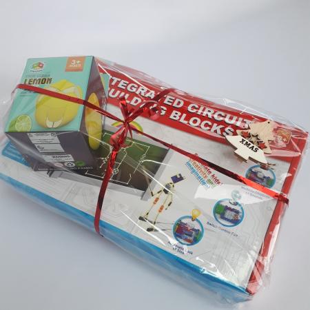 Cadou 8-14 ANI - Constructie Circuite Integrate + Cub Rubik Lamaie [2]