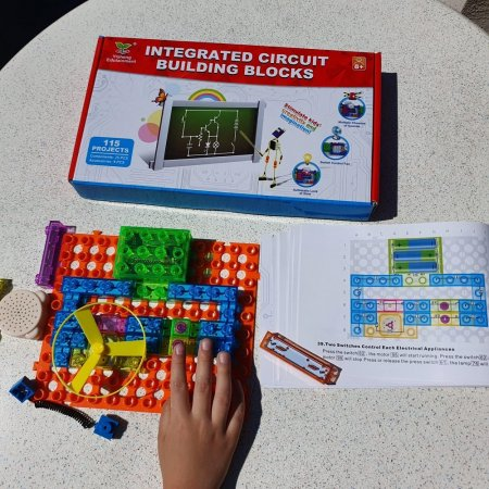 Cadou 8-14 ANI - Constructie Circuite Integrate + Cub Rubik Lamaie [4]