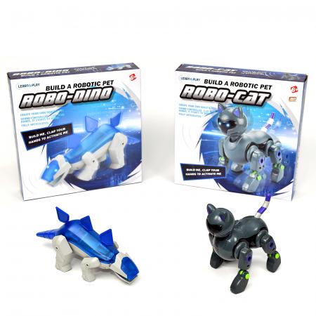 Pachet Roboti Electromecanici - Dinozaur si Pisica [2]
