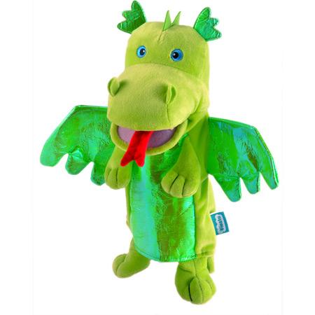 Personaj teatrul de papusi - Dragonul / Green Dragon - Fiesta Crafts [0]