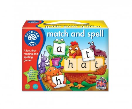 Potriveste si formeaza cuvinte / MATCH AND SPELL [0]