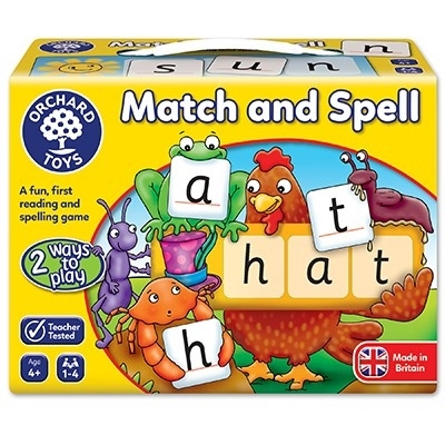 Potriveste si formeaza cuvinte / MATCH AND SPELL [2]