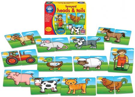 Prietenii de la ferma / FARMYARD HEADS & TAILS [1]