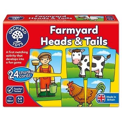 Prietenii de la ferma / FARMYARD HEADS & TAILS [3]