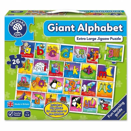 Puzzle Alfabetul / GIANT ALPHABET [3]