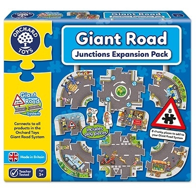 Puzzle gigant de podea Intersectii (10 piese) GIANT ROAD EXPANSION PACK JUNCTION [0]