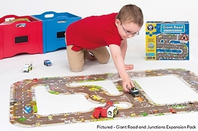 Puzzle gigant de podea traseu masini (20 piese) GIANT ROAD JIGSAW [3]