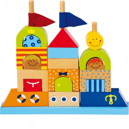 "Puzzle lemn ""Castelul de nisip"" - Legler [0]"