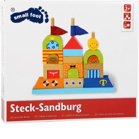"Puzzle lemn ""Castelul de nisip"" - Legler [2]"