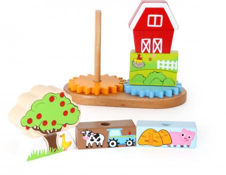 Puzzle lemn Ferma - Legler [3]