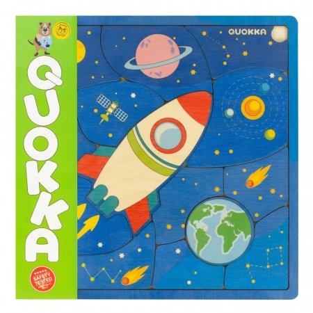 "Puzzle ""Spatiul"" - jucarie educativa Quokka [0]"