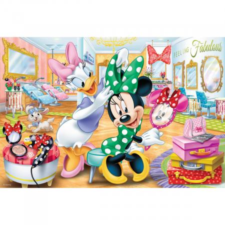 Puzzle Trefl 100 Minnie la salonul de infrumusetare [1]