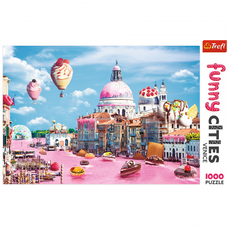 Puzzle Trefl 1000 Prajiturele la Venetia [2]