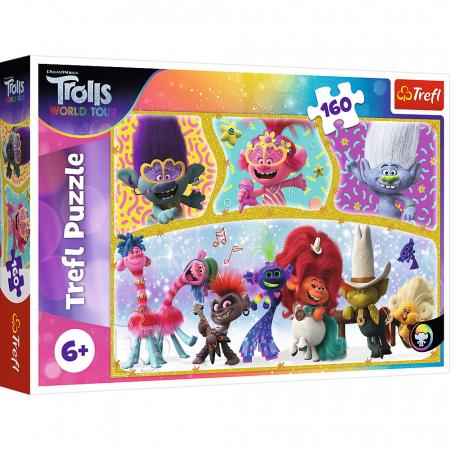 Puzzle Trefl 160 lumea fericita a trolilor [0]