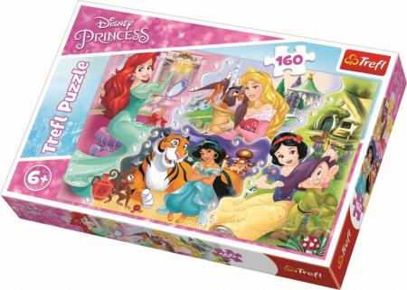 Puzzle Trefl 160 Printese impreuna cu prieteni [0]