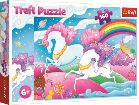 Puzzle Trefl 160 Unicorni [0]