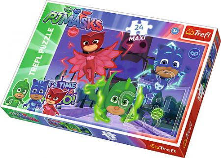 Puzzle Trefl 24 Maxi Eroi Misteriosi [0]