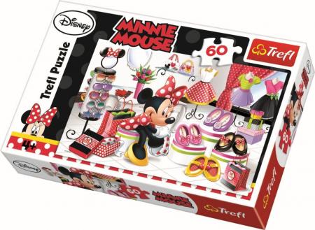 Puzzle Trefl 60 Minnie la shopping [0]