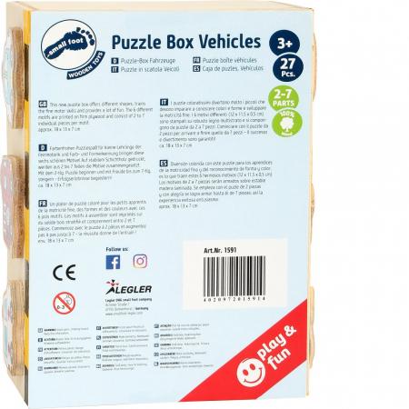 Puzzle vehicule - Legler [3]