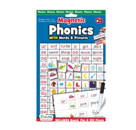 Joc educativ magnetic Fonetica cu imagini si cuvinte / Phonics [0]