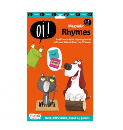 Joc educativ magnetic Rime / Oi ! Rhyming [0]