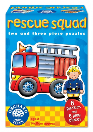 Set 6 puzzle Echipa de salvare (2 si 3 piese) RESCUE SQUAD [0]