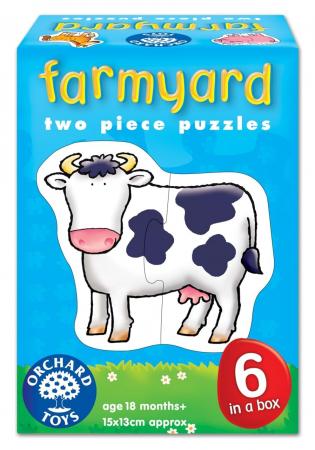 Set 6 puzzle Ferma (2 piese) FARMYARD [0]