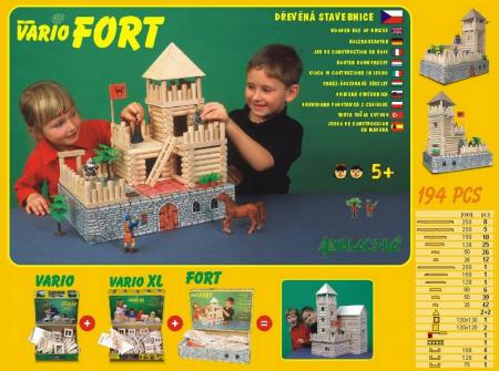 Set de construit Vario Fort – joc educativ Walachia [1]