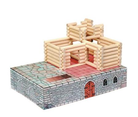Set de construit Vario Fort – joc educativ Walachia [4]