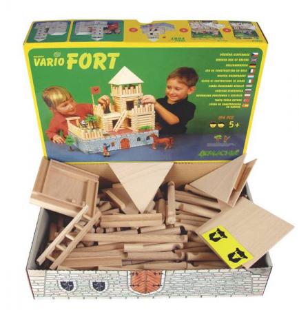 Set de construit Vario Fort – joc educativ Walachia [5]