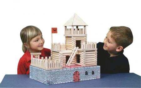 Set de construit Vario Fort – joc educativ Walachia [9]