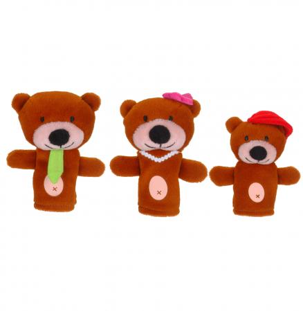 Set papusa si marionete Goldilocks si cei 3 ursuleti / Goldilocks and the Three Bears - Fiesta Crafts [1]