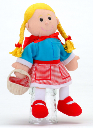 Set Papusa si marionete Scufita Rosie / Red Riding Hood - Fiesta Crafts [1]