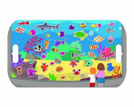 Stickere acvariu / Aquarium - Fiesta Crafts [4]