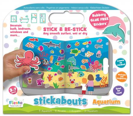 Stickere acvariu / Aquarium - Fiesta Crafts [6]